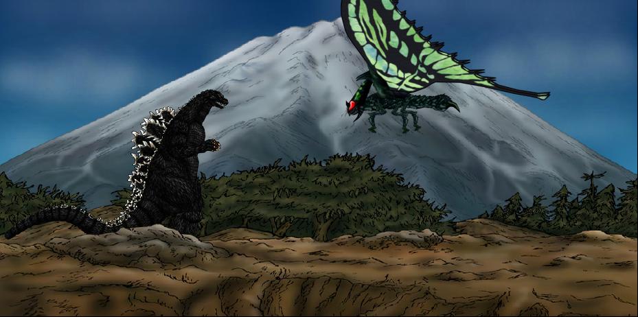 Image result for Godzilla vs Gigamoth