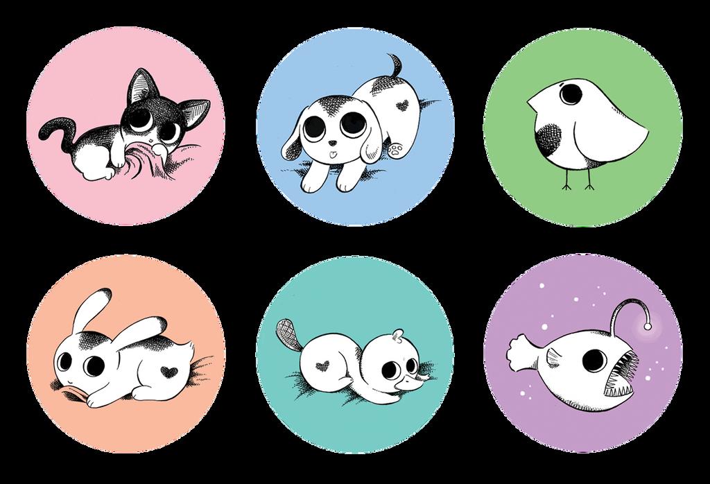 Animal cuties by GirlsHateBoys