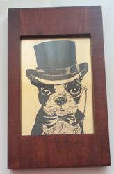 Dapper Doggy by Umbaca