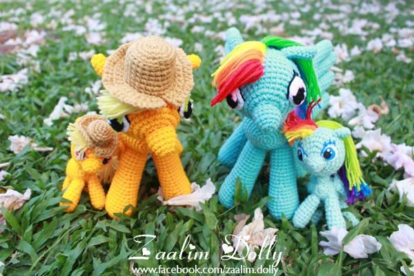 Amigurumi My Little Pony by zaalimdolly on DeviantArt