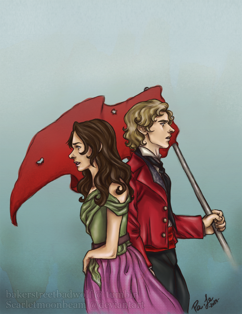 Enjolras and Eponine