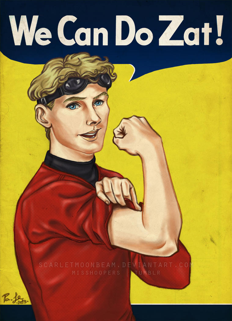 Chekov - We Can Do Zat! by ScarletMoonbeam