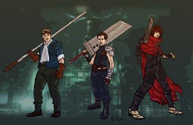 Supernatural crossover: Team Free Will