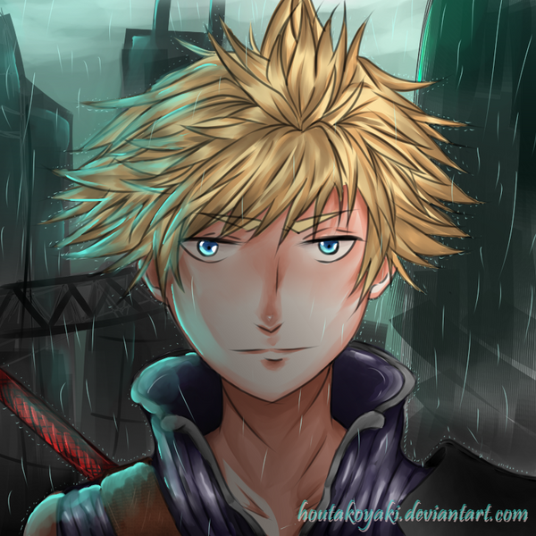 [FanArt] Cloud Strife - Final Fantasy VII by HouTakoyaki