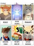 Six Fanart by Hou