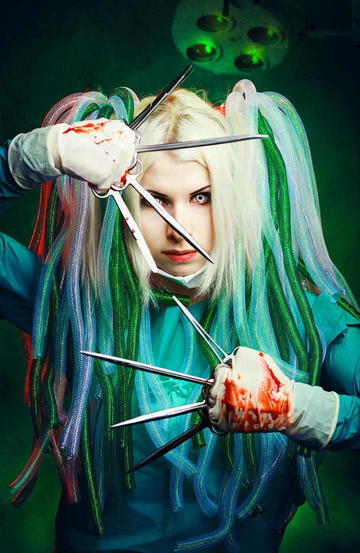 Anime Surgeon Cybergoth surgeon by Elena-