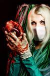 Cybergoth nurse by elenasamko