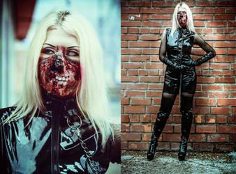 Zombie Girl by elenasamko