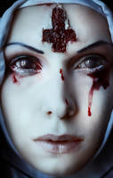 Bloody drips by elenasamko