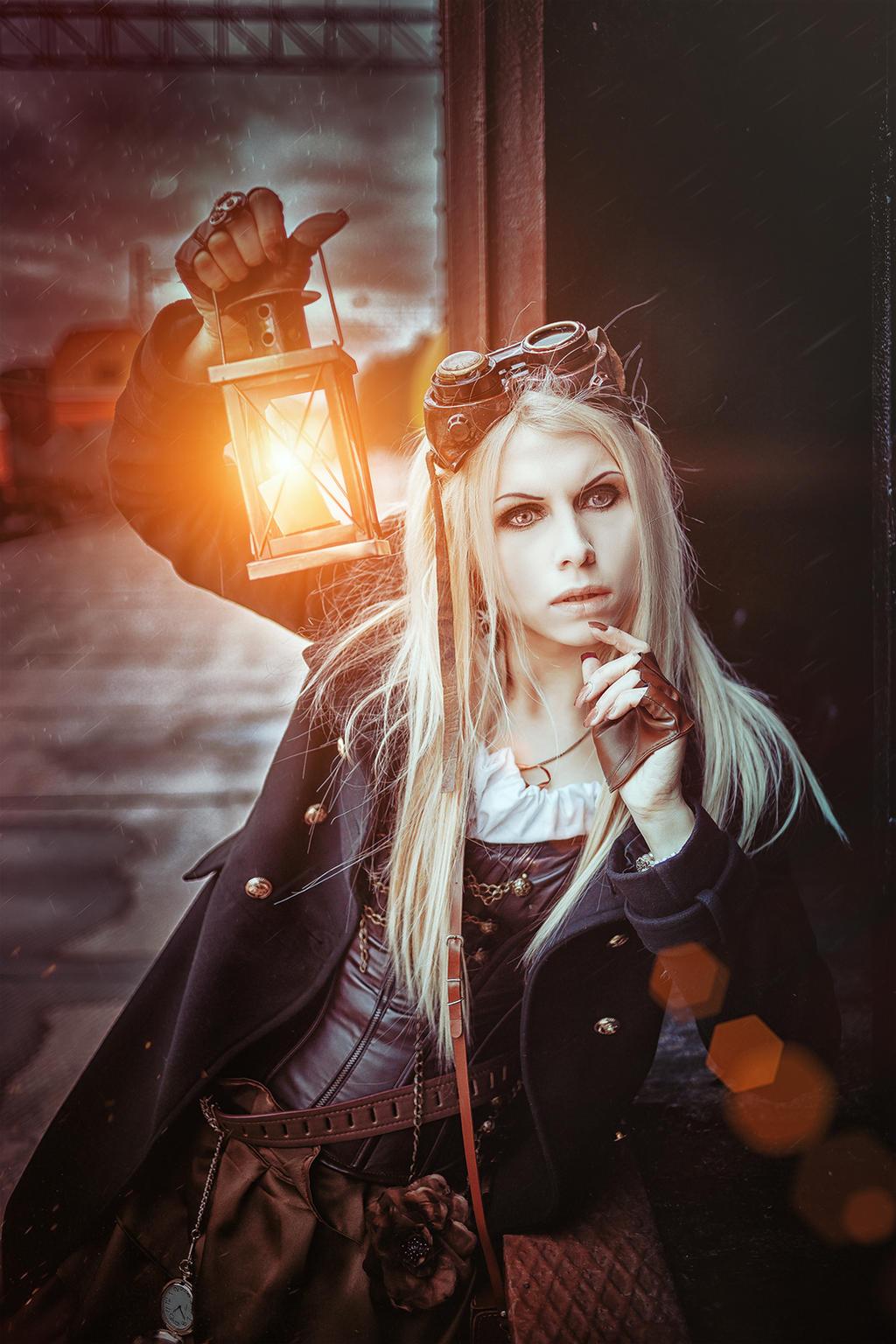Steampunk watchman by Elena-NeriumOleander