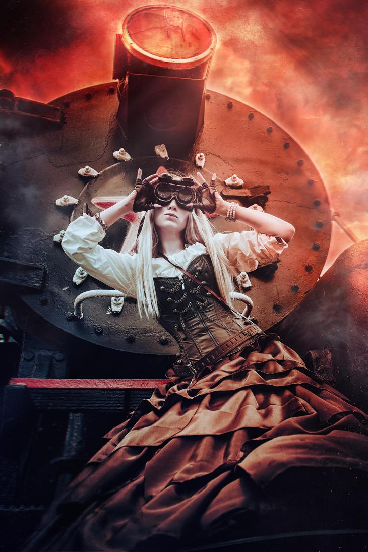 Steampunk Revolution by Elena-NeriumOleander