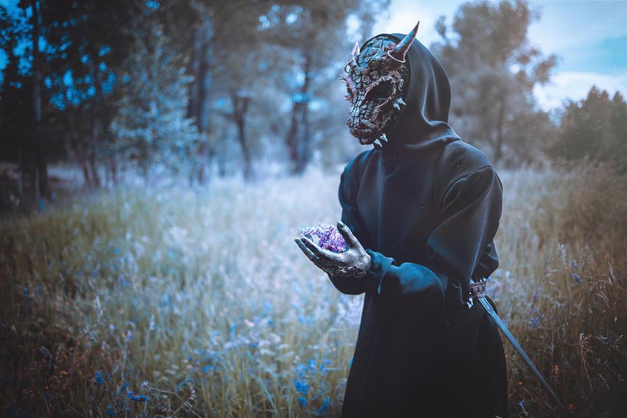 Argonian The Elder Scrolls  Cosplay by Elena-NeriumOleander