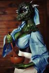 Argonian Maid by elenasamko