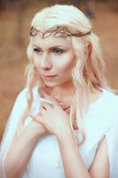 Lady Galadriel Cosplay by elenasamko