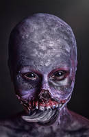 The Botchling make-up Witcher 3 Cosplay by elenasamko