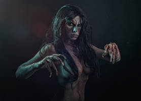 Bruxa Cosplay The Witcher 3 Blood and Wine by elenasamko