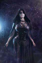Mistress Death Cosplay