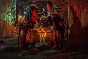The Crones The Witcher 3 Cosplay by elenasamko