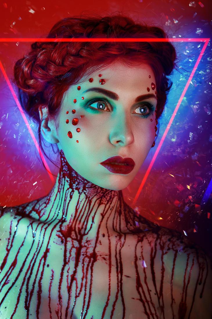The Neon Demon Inspiration by elenasamko