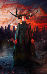 Hela Thor Ragnarok Cosplay by elenasamko