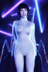 Motoko Cyberpunk 2077