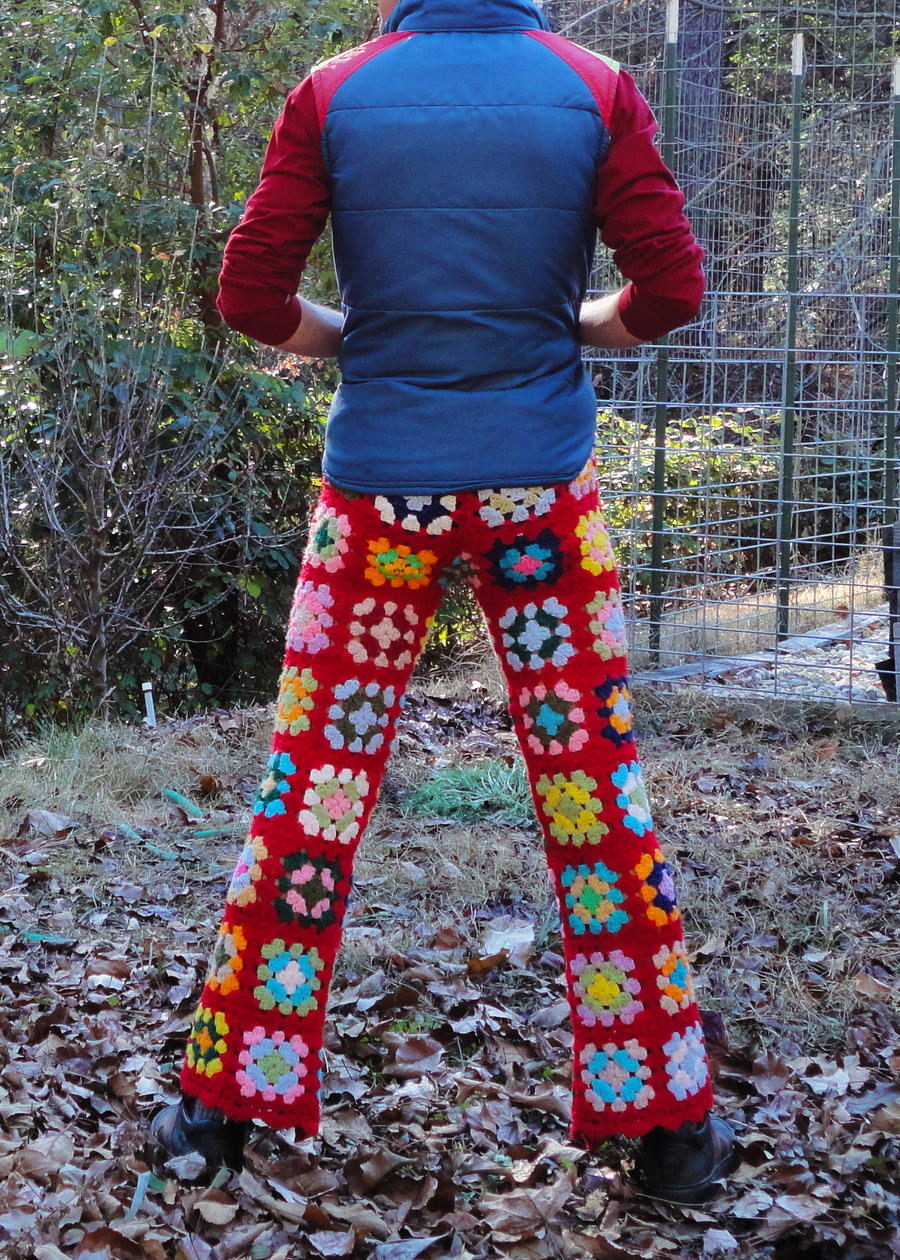 Crochet Pants Parade by LordvonSchmitt on DeviantArt