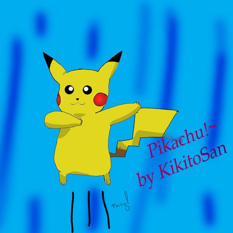 Pikachu FanArt by KikitoSan