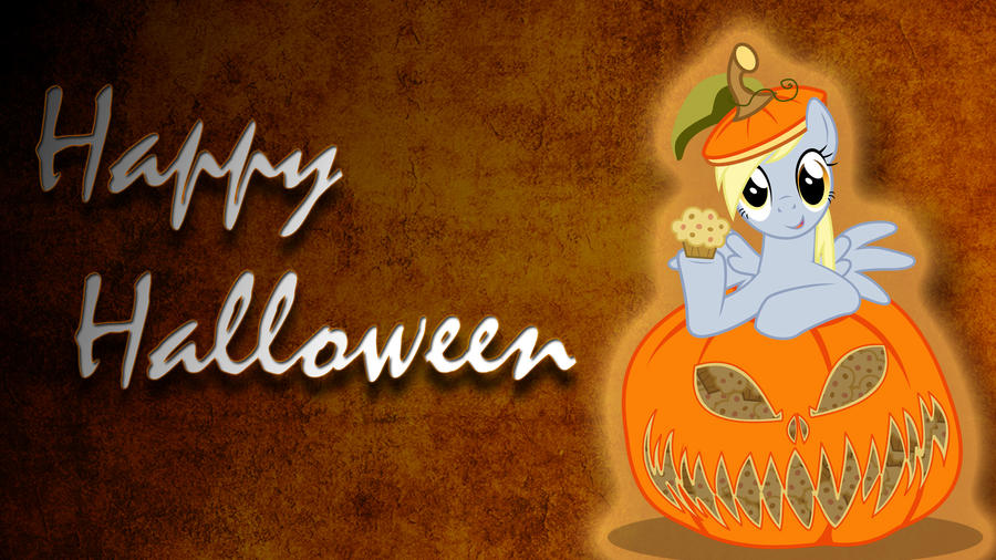 Derpy Hooves Halloween Wallpaper by thaBIGDADDY5