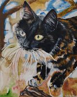 Emily Portrait by Mararda