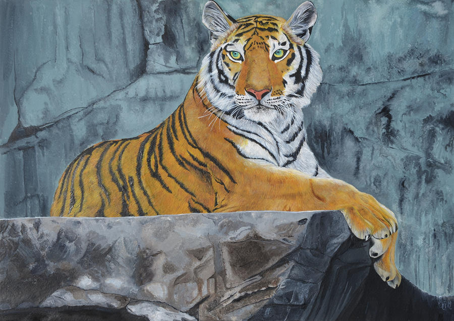 Imperial Tiger by Mararda