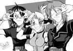 Random manga trio