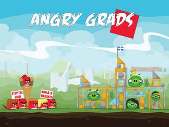 Angry Grads by gargoyl3