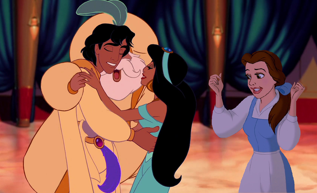 Aladdin And Jasmine Balcony