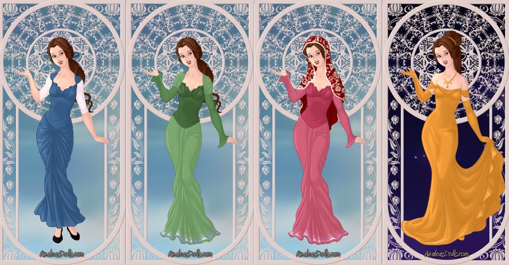 Belle's Dresses by MedieavalBeabe