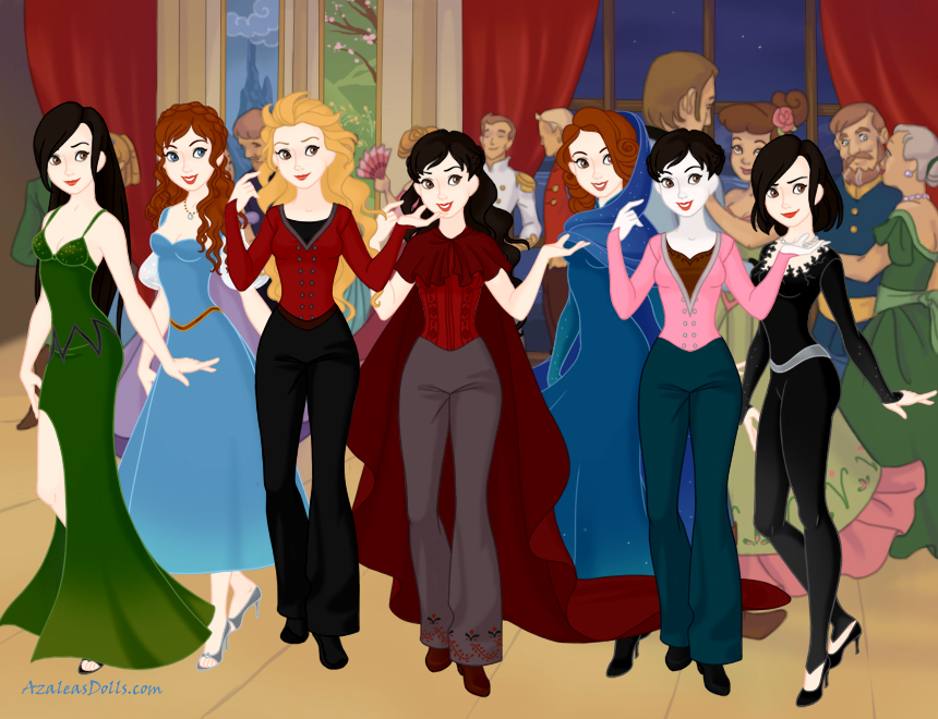 OUAT Girls by MedieavalBeabe