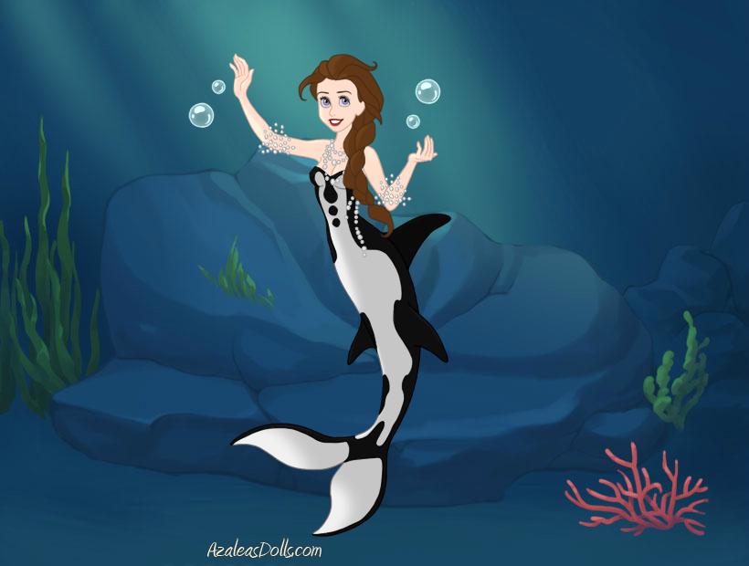 Undertow/Mermaid Elsa Parody by MedieavalBeabe