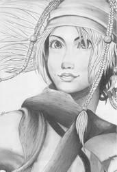Rikku, FFX2 by Mystified-Dreamer