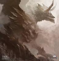Titanic dragon by Thor0denson