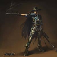 Fantasy - Human Gunner by reaper78