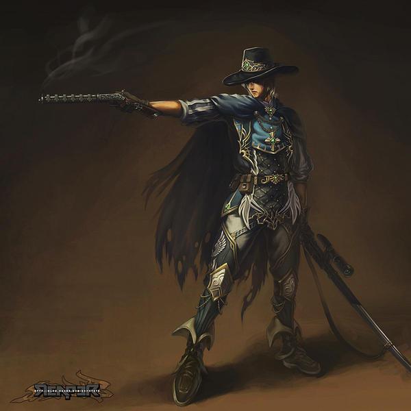 Fantasy - Human Gunner