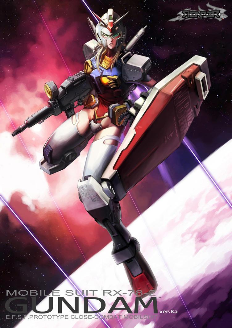 Mechanic - Gundam Girl by reaper78