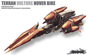 Starcraft 1 - Vulture by reaper78