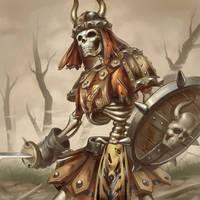 Card image - skeleton Ver. 1.0 by reaper78