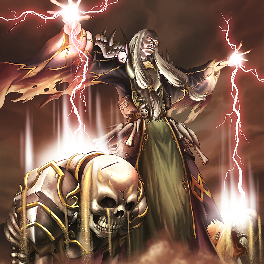 Card image - Necromancer by reaper78