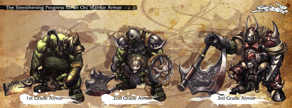 Orc Armor for level by reaper78