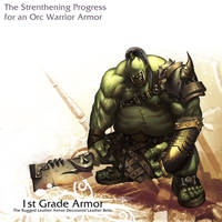 Orc Warrior - 1st Grade by reaper78