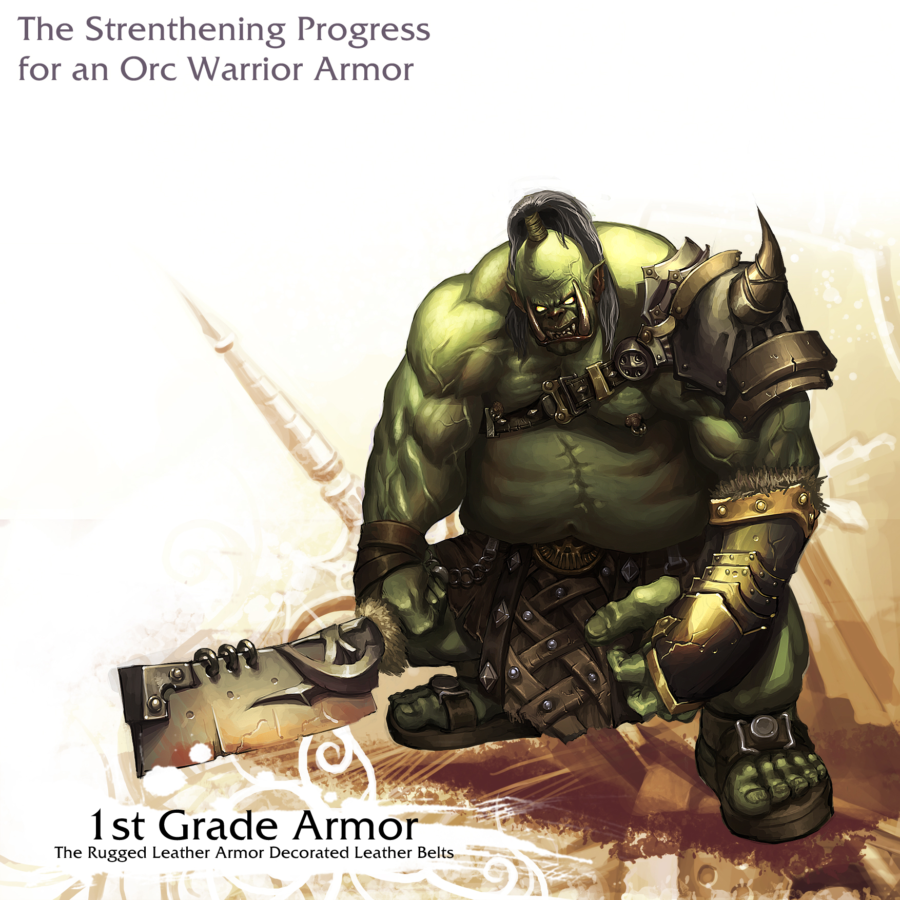 Orc Warrior - 1st Grade