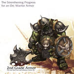 Orc warrior - 2nd Grade