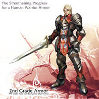 Human Warrior 2nd armor by reaper78