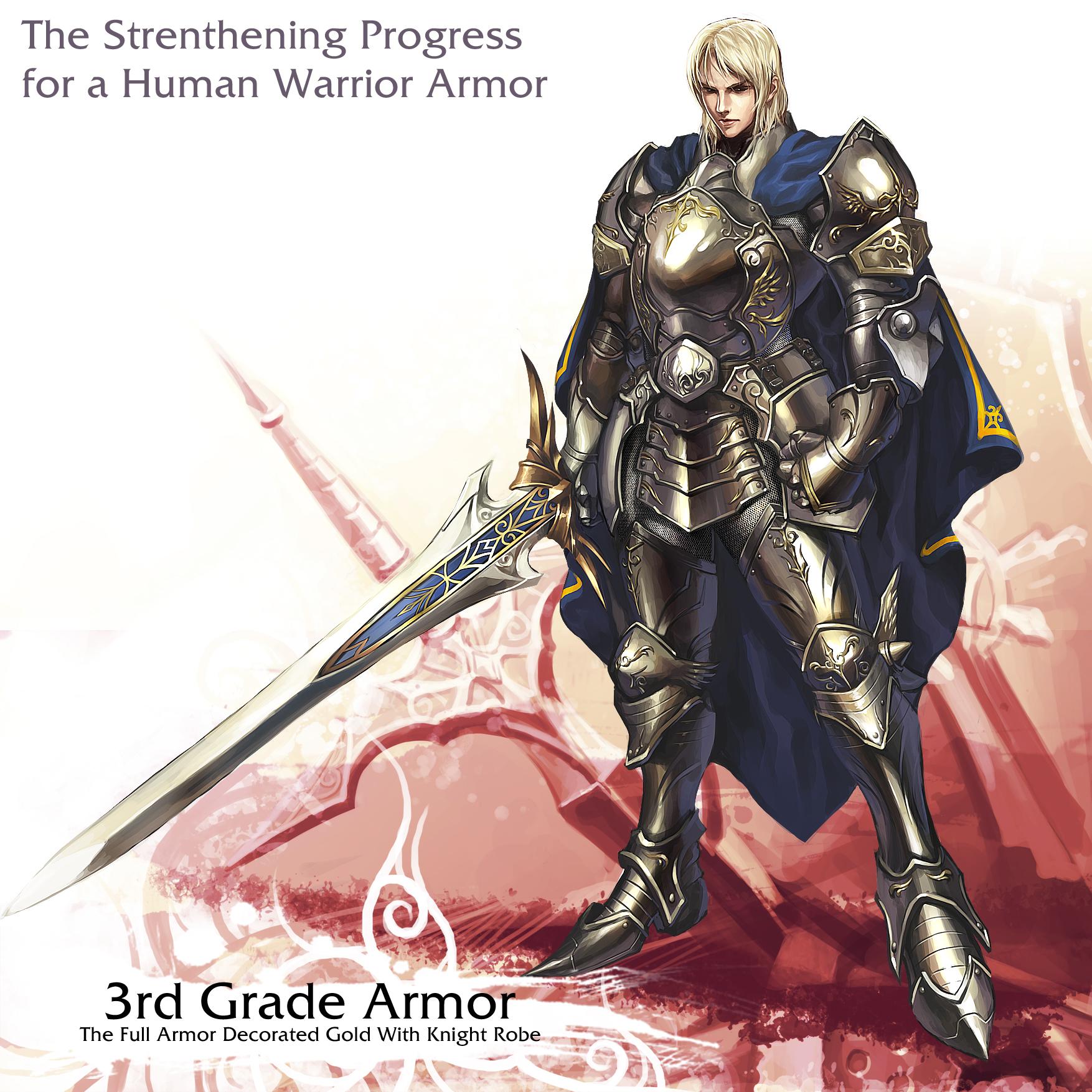 Human Warrior 3rd armor